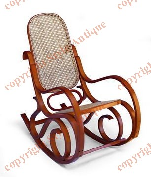 rocking chair bois cann. Black Bedroom Furniture Sets. Home Design Ideas