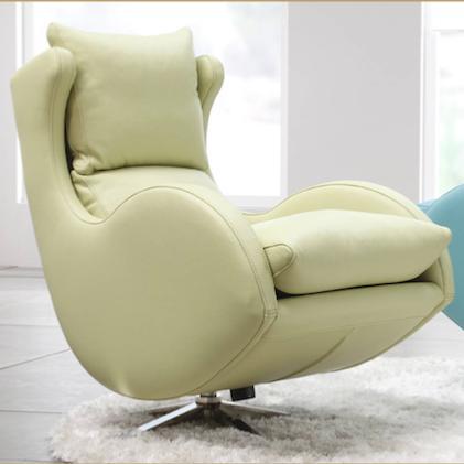 fauteuil de relaxation pivotant basculant lenny fama. Black Bedroom Furniture Sets. Home Design Ideas