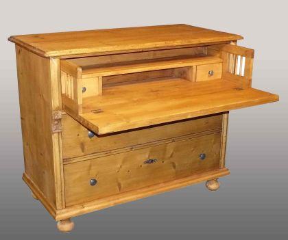 Commode ancienne en pin meuble ancien en pin modifi - Meubles anciens en pin ...
